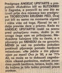 POLET - ANGELIC UPSTARTS 1985 - 1